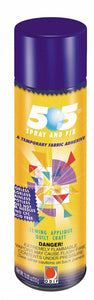 505 Spray & Fix Temporary Repositionable Fabric Adhesive 12.4oz (ORMD)