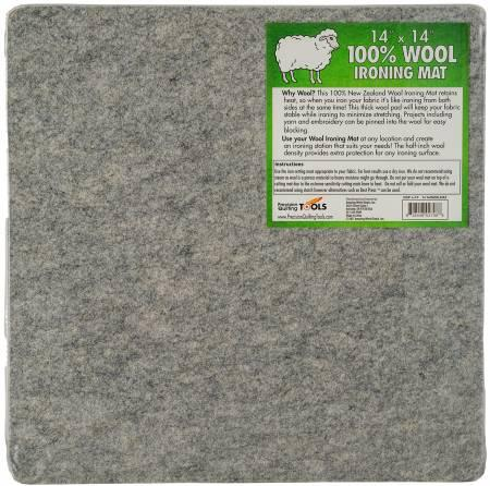 Wool Ironing Mat 14in x 14in