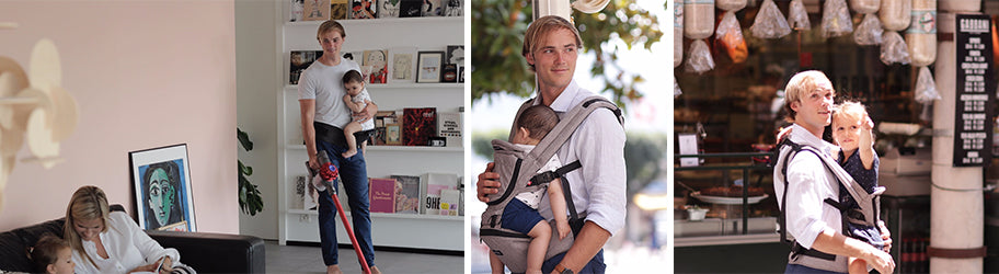 Babywearing dads of the world, unite!