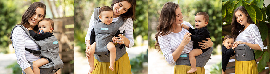 Introducing MOBY's 2-In-1 Hipseat Baby Carrier, Hip Dysplasia Approved.