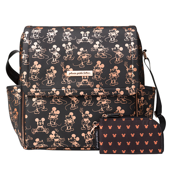 Boxy Backpack - Metallic Mickey