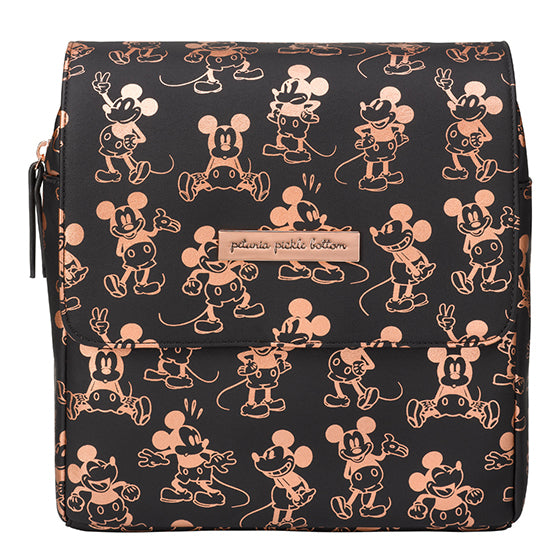Boxy backpack Mini Me - Metallic Mickey