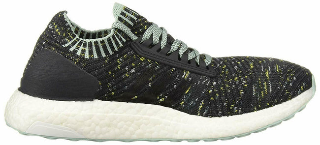 Adidas BB6509: Women's Ultraboost X Carbon/Ash Raw Green Running Shoe