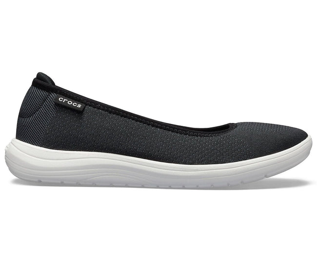 Reviva Black/White Women Flat