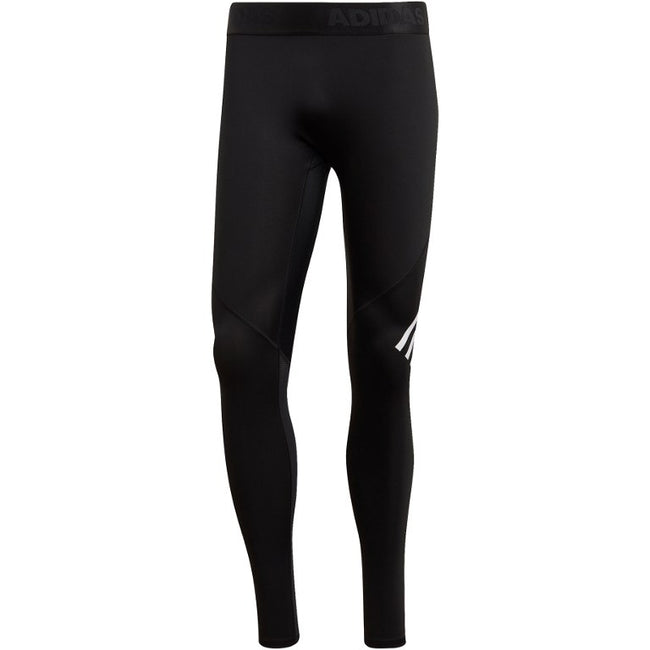adidas Men's Alphaskin Sport+ Long 3-Stripes Tights - black DQ3561