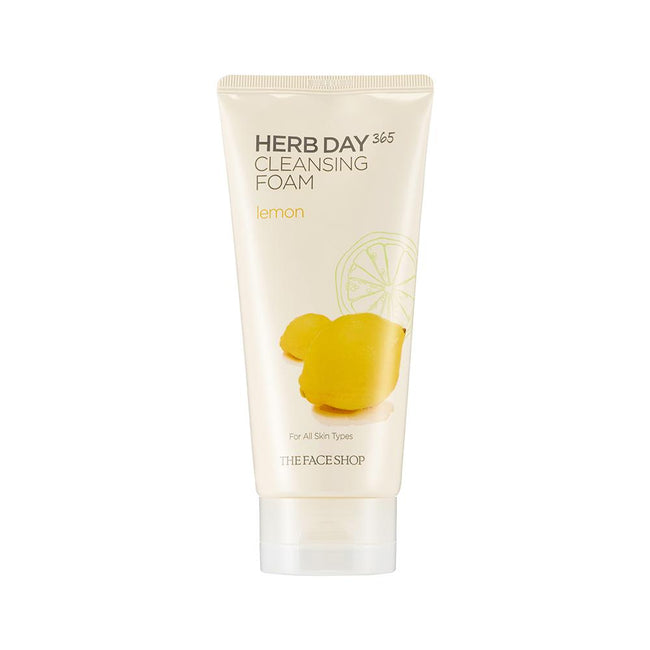 THE FACE SHOP-HERB DAY 365 FOAMING CLEANSER LEMON (2018)