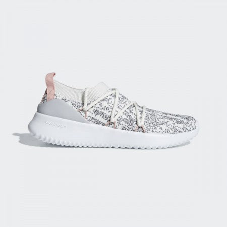 Adidas F34533 Women's Essentials Ultimamotion Shoes - Running White/Grey/Dust Pink
