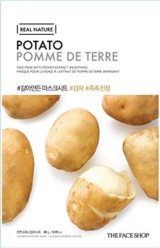 THEFACESHOP- Real Nature Sheet Mask (Potato)