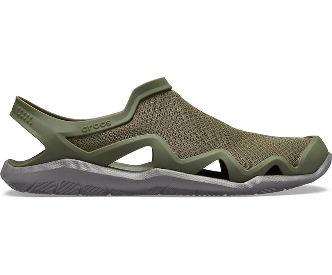 Swiftwater Mesh Wave Army Green/Slate Grey Men Sandal
