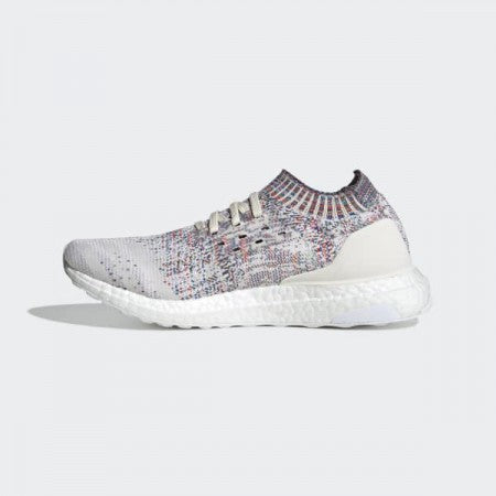 Adidas B75860 Women's Running Ultraboost Uncaged Shoes - Chalk White/Cloud White/Active Green