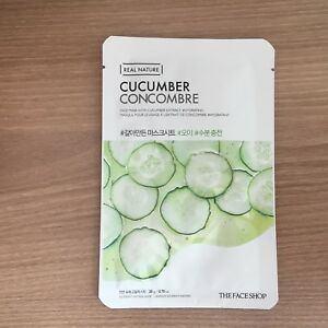 THE FACE SHOP-REAL NATURE MASK SHEET CUCUMBER.2017