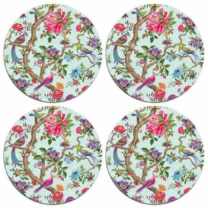 Chinoiserie Bird table mats