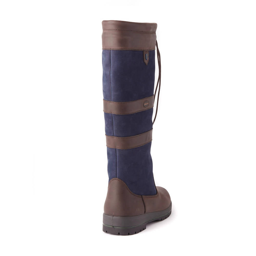 Galway Country Boot in Navy / Brown