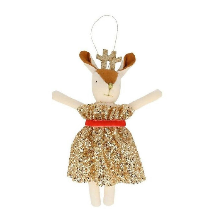 MERI MERI MRS REINDEER TREE DECORATION