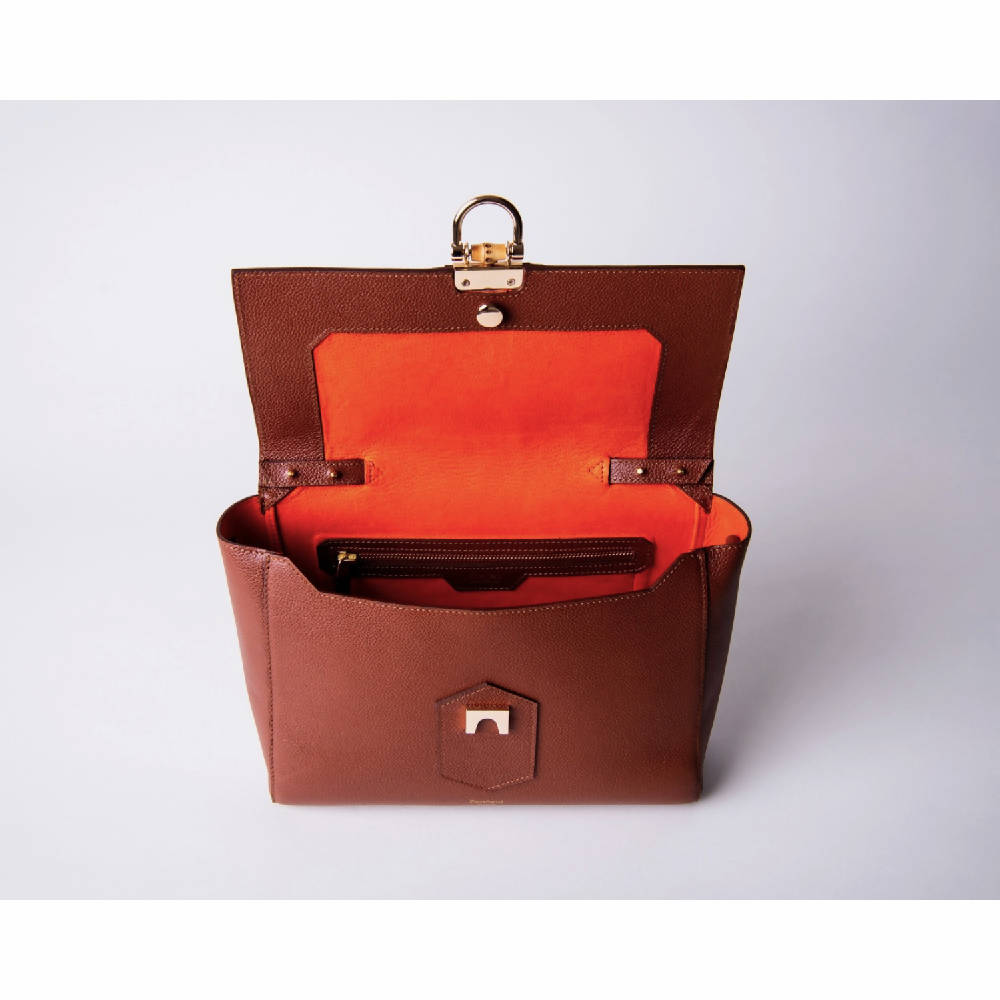 Padfield Somerset Leather Handle Bag