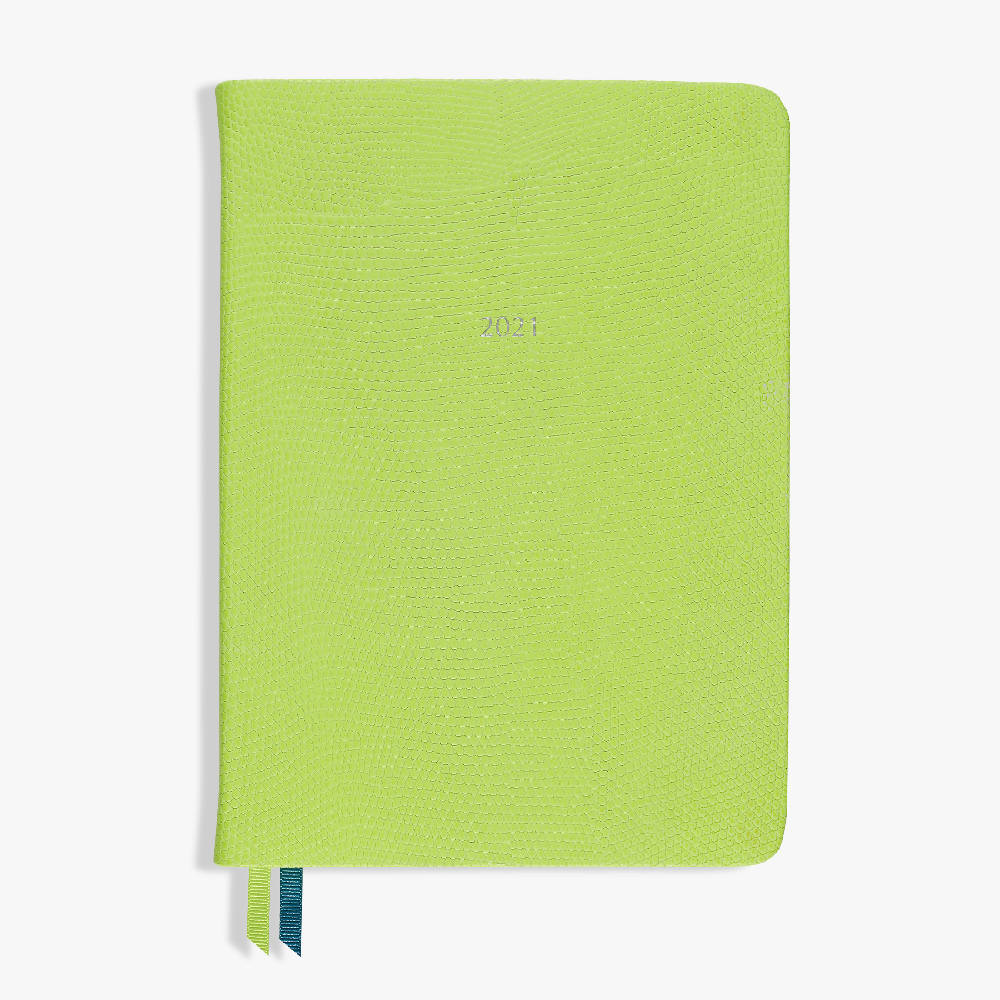 Mid Size Organiseher Diary 2021 Leather