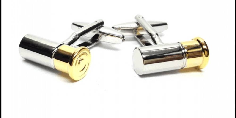 SHOT GUN CARTRIDGE / SHOOTING CUFFLINKS