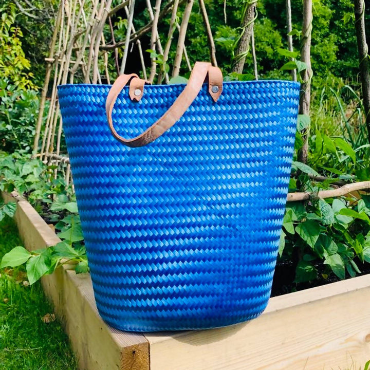 Blue Mexican strong eco-friendly tote