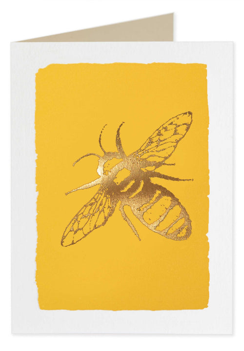 Bee Blank Note Cards - Pack of Five