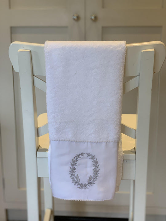 White Guest Towel