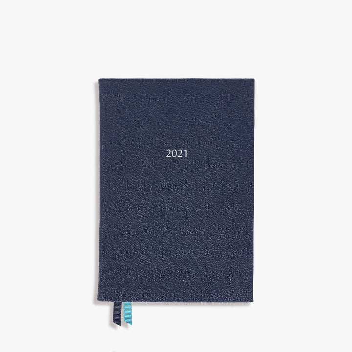 Small Belgravia Diary 2021 Leather