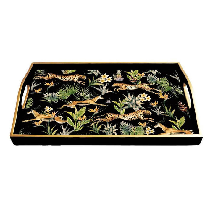 Jungle Fever Lacquered Tray