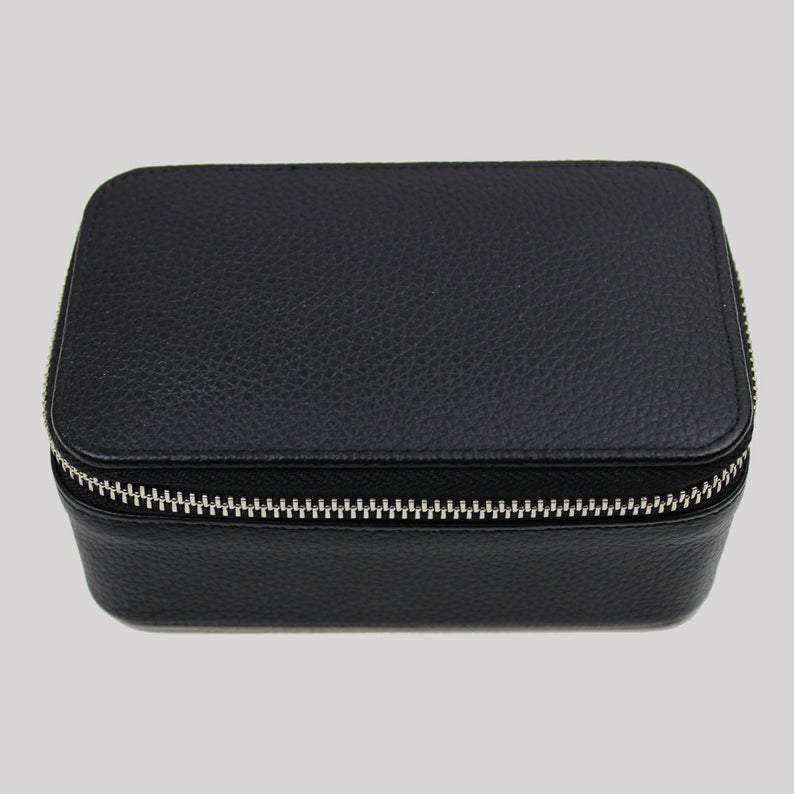 Travel Jewellery Box Black