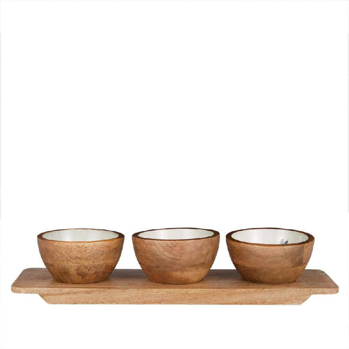 Out of Africa Nibble Bowl With Tray
