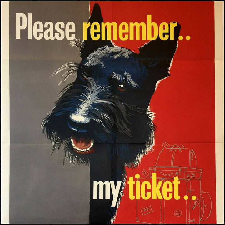 Please Remember My Ticket c.1950s