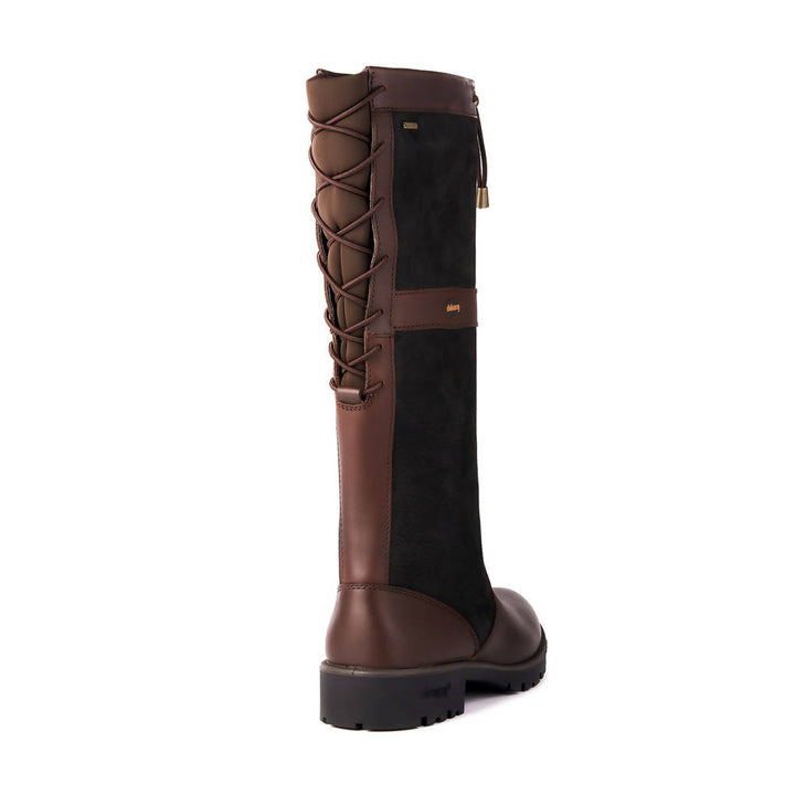 Glanmire Country Boot in Black / Brown