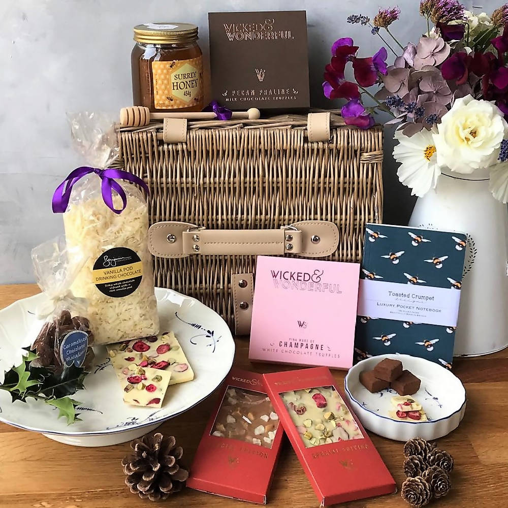 Chocolate Luxury Customisable Artisan Gift Hamper