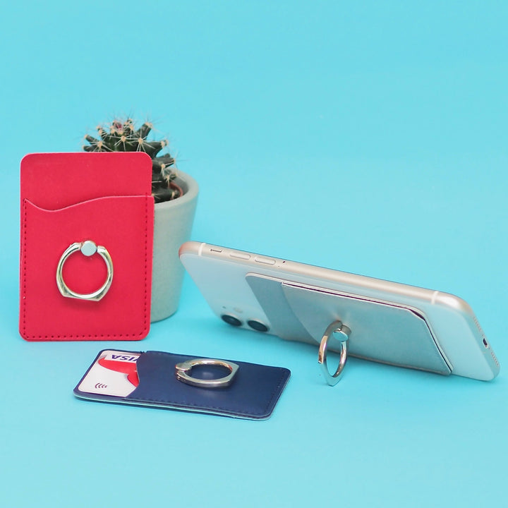 Smart Phone Ring Wallet