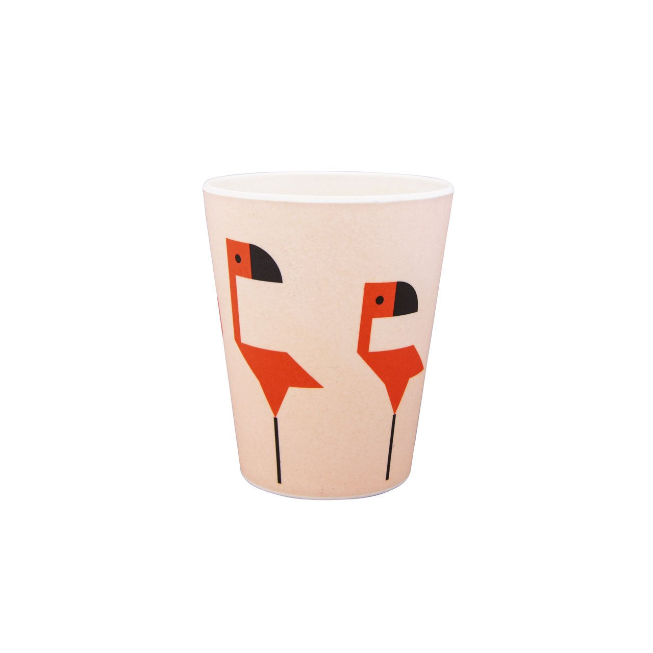Flamingo Bamboo Plate & Cup set