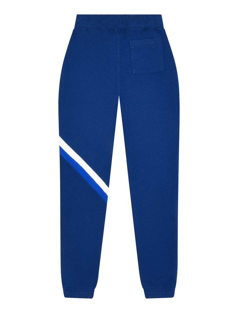 Kids Cinched Retro Stripe Sweatpants - Twilight Blue/Dazzling Blue