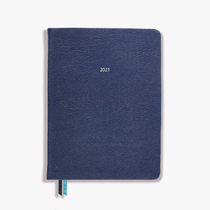 Mid size Belgravia Diary 2021 Leather