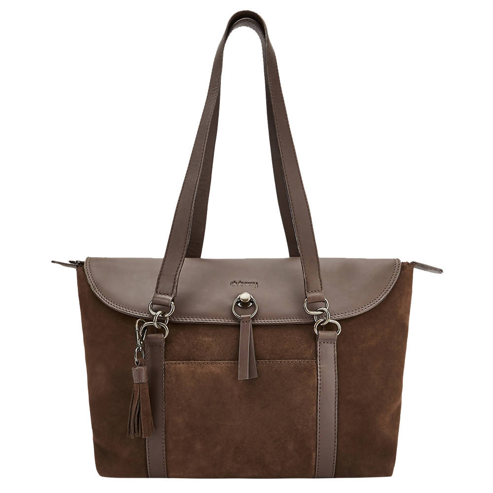 Parkhall Tote Bag in Cigar