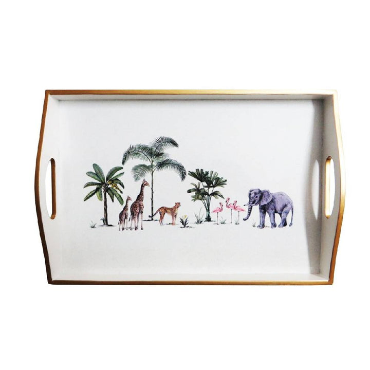 Out of Africa Lacquered Tray