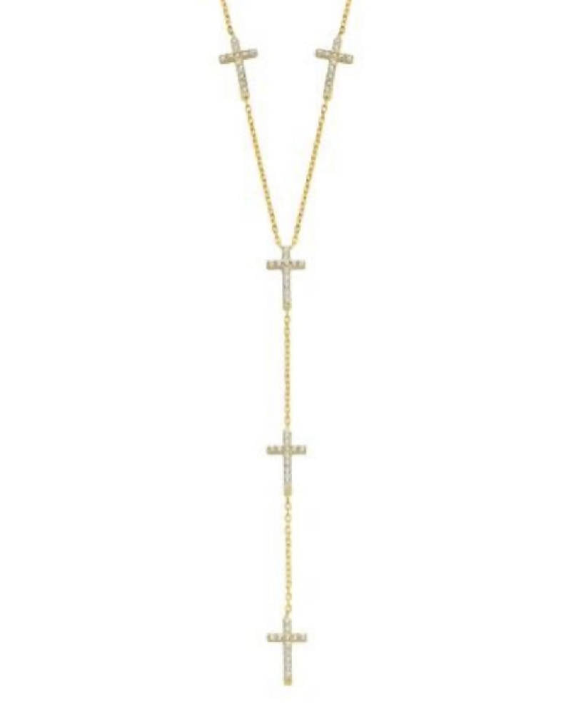 Sophie Cross Necklace