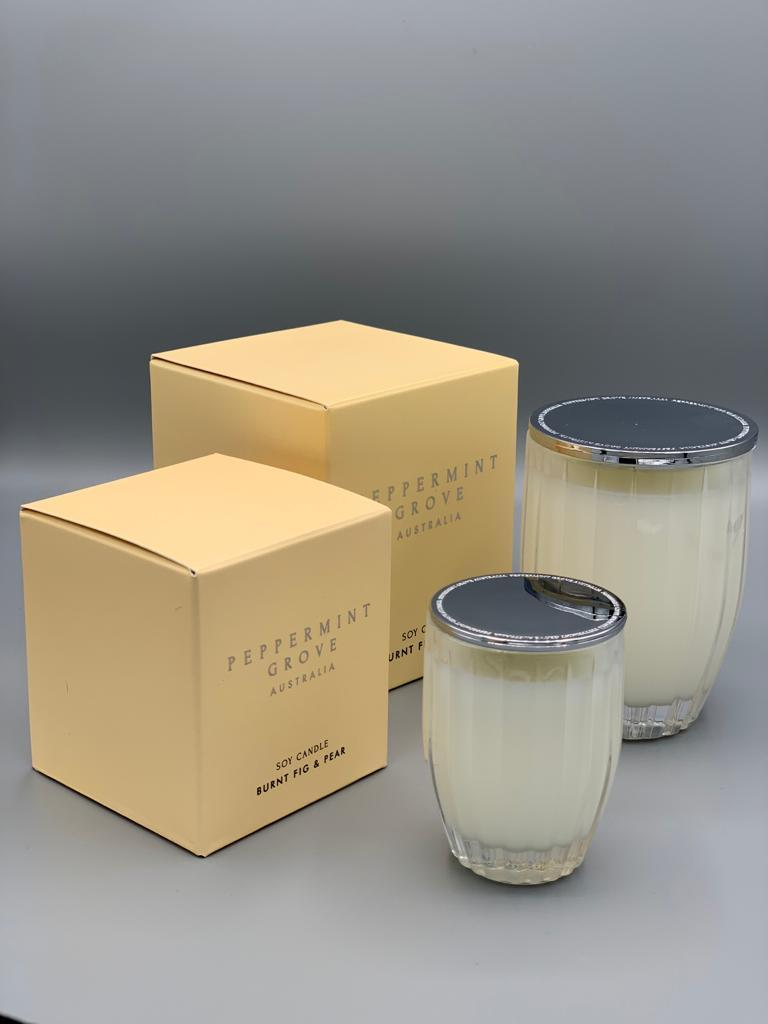 Burnt Fig Soy Candle Small
