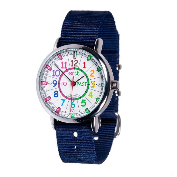 Tell the Time Watch - Navy