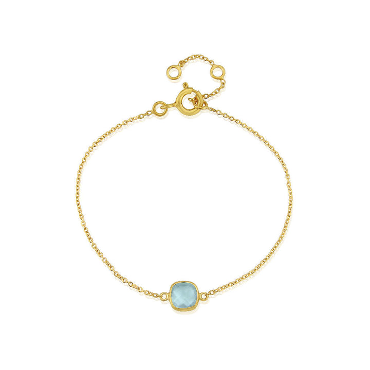 Brooklyn Gold Vermeil and Labradorite Gemstone Bracelet