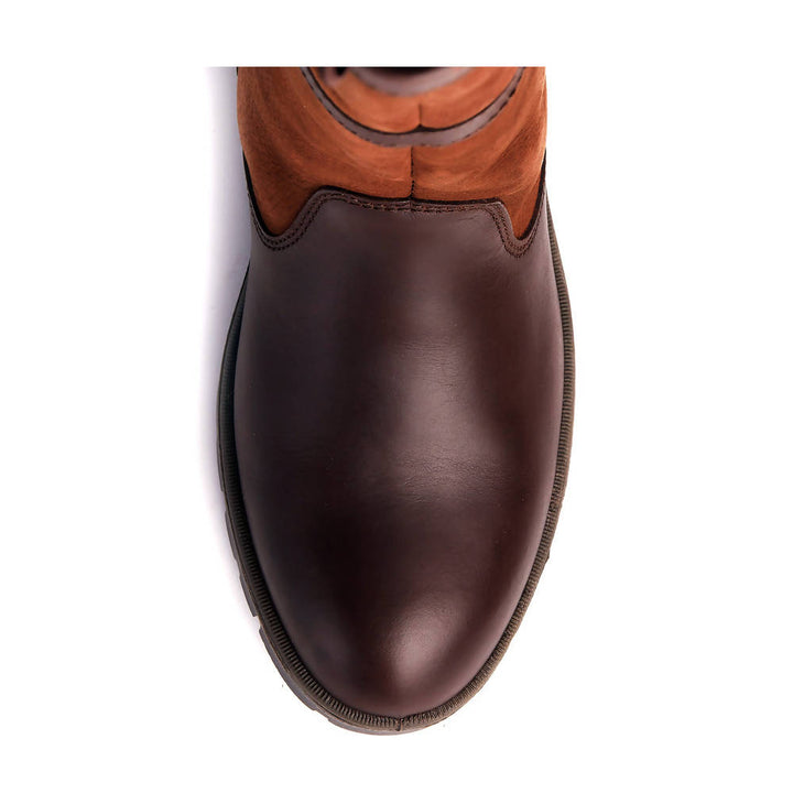 Glanmire Country Boot in Walnut