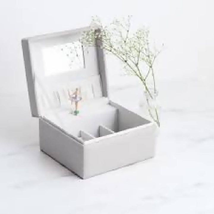 Musical Jewellery Box in Grey