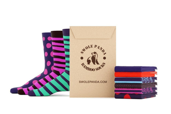 Get fresh pairs of super soft bamboo socks each month.