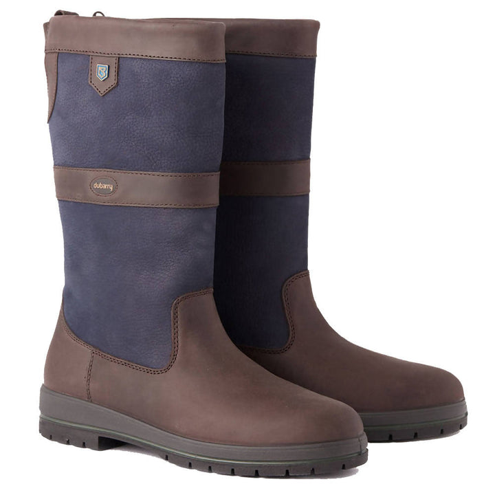 Kildare Country Boot - Navy/Brown