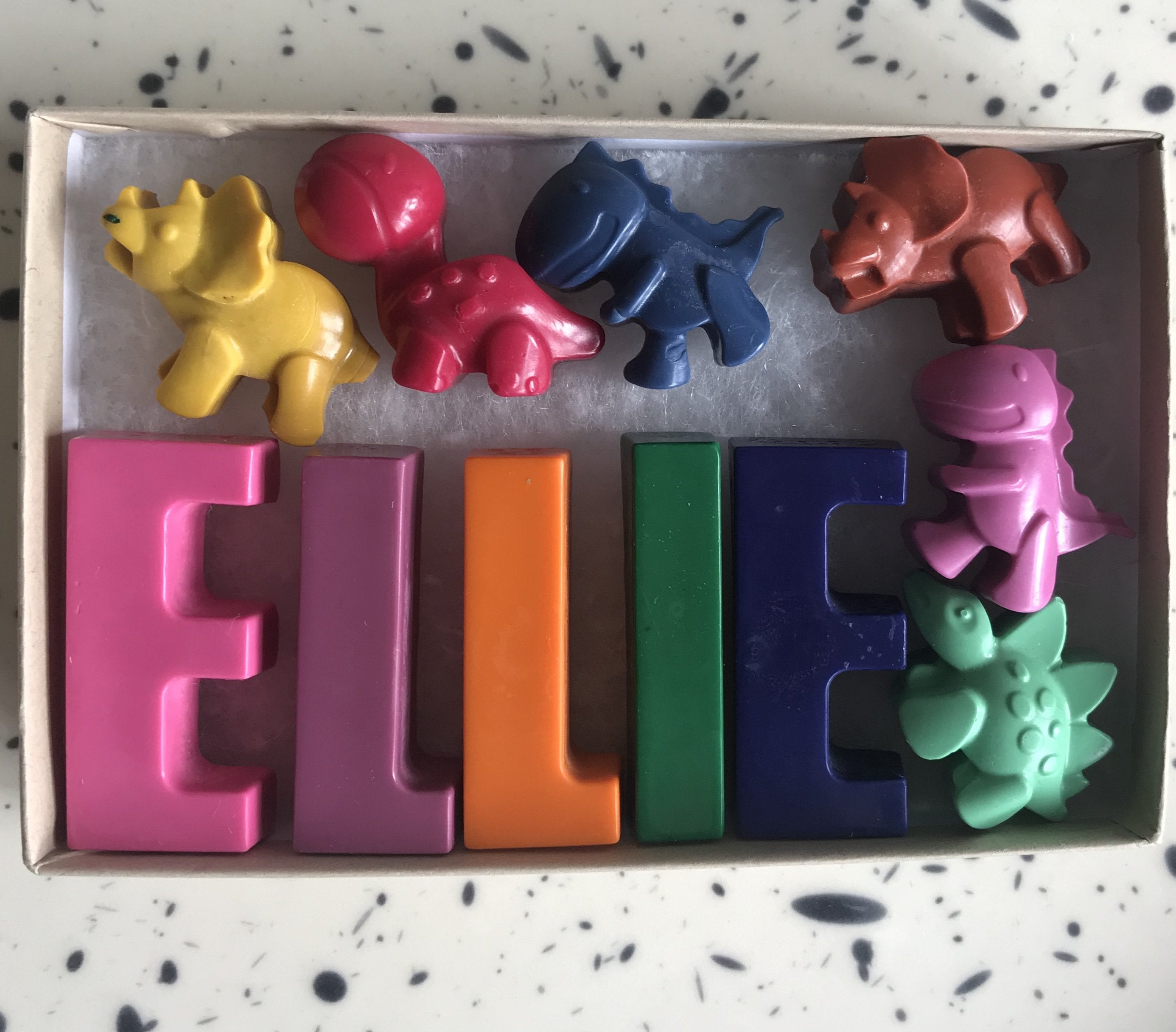 Personalised Name Beeswax Crayons