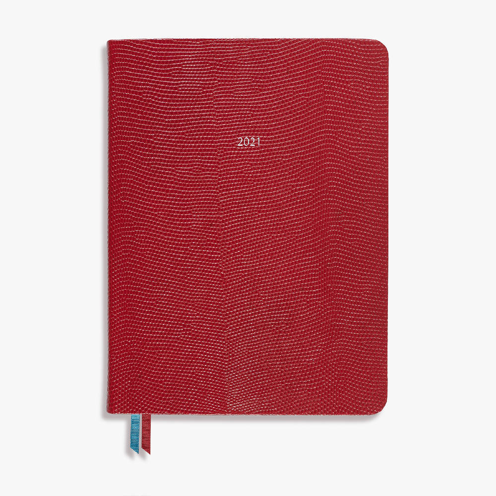 Large Organiseher Diary 2021 Leather