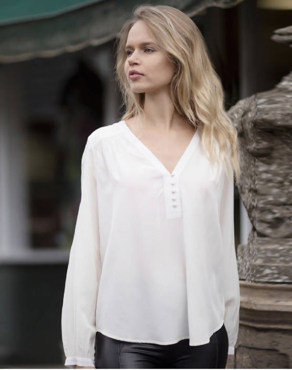 Molly Silk Blouse