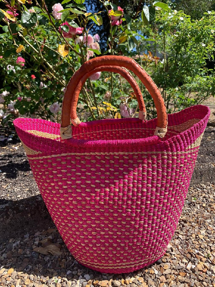 Market bag Pink (pink lip)
