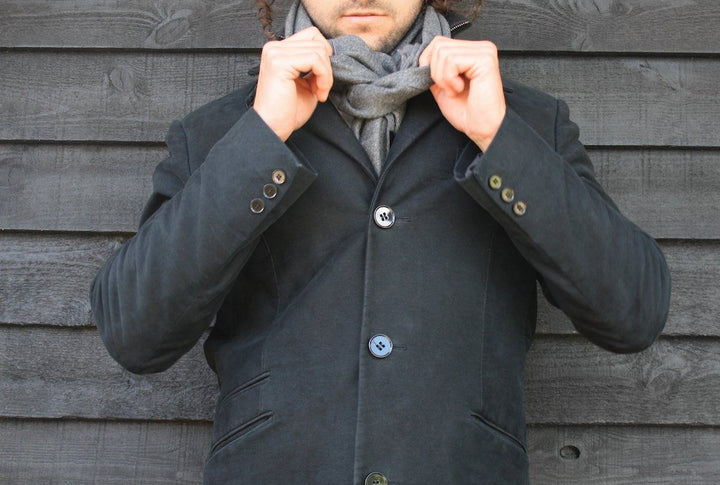 Charcoal Grey Bamboo Scarf